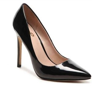 Mix No. 6 Dignity Faux Patent Leather Heels